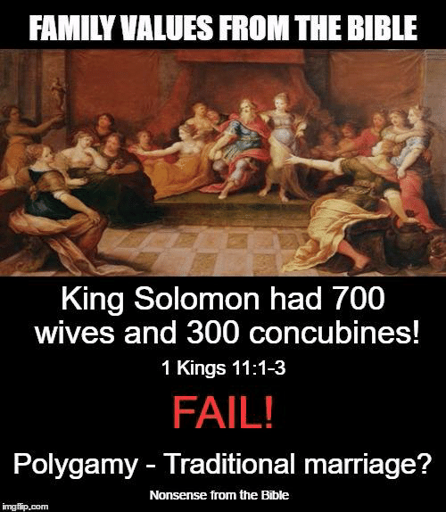 700 wives 300 concubines